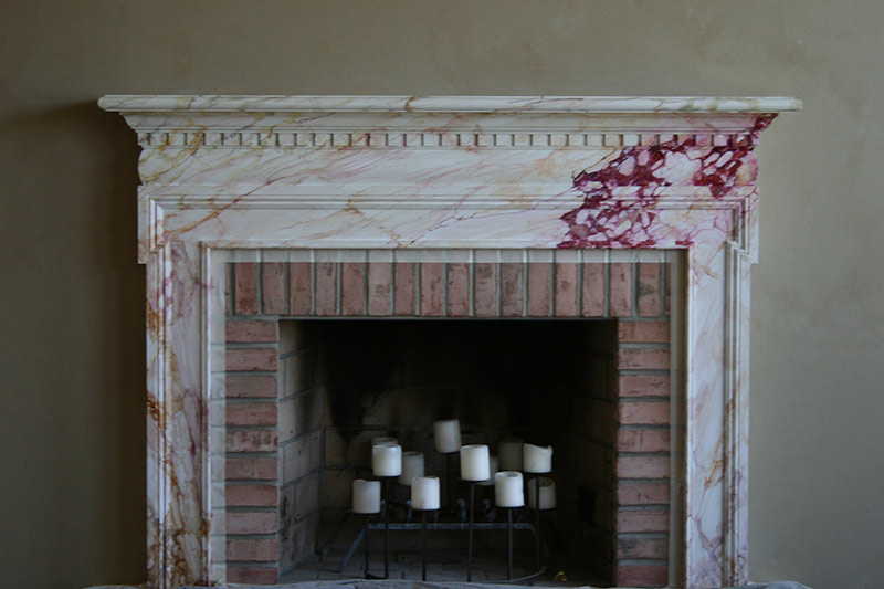 faux marble fireplace and mantle - Marbling Painting In Philadelphia, Montgomery & Bucks County, PA