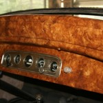 Faux wood Dashboard on old car